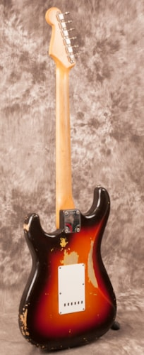1961 Fender Stratocaster Sunburst, Excellent, Original Hard
