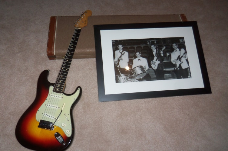 1961 Fender® Stratocaster® Sunburst, Excellent, Original Hard, Call For Price!