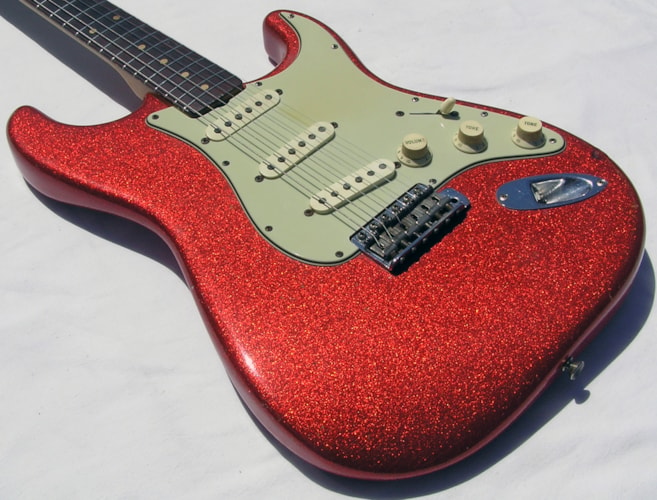 1961 Fender Stratocaster  Tele Red Blue Green Silver, Brand New, Call For Price!
