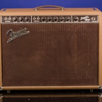 1961 Fender Super (Brownface with Oxblood Grill) Amplifier 6G4