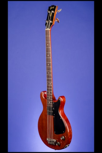 1961 Gibson EB0 Bass  Cherry, Excellent, Original Soft