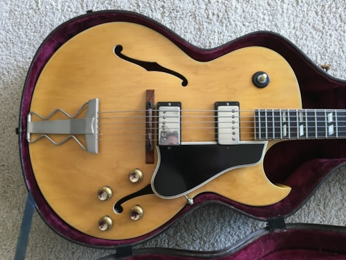 1961 Gibson ES-175 DN Natural, Very Good, Hard, $9,499.00