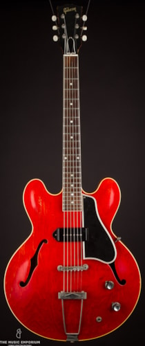 1961 Gibson ES-330T Red, Very Good, Hard, $3,500.00