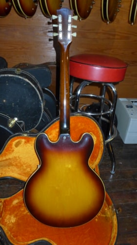 1961 Gibson ES-335 Sunburst, Excellent, Original Hard