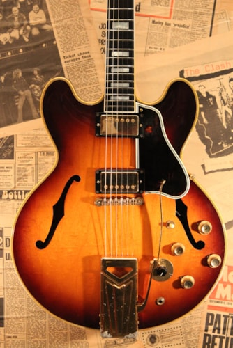 1961 Gibson ES-355TD Original Sunburst and Monaural Original Sunburst, Near Mint, Original Hard, Call For Price!
