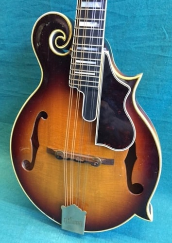 1961 Gibson F-5 Mandolin Sunburst, Excellent, Original Hard