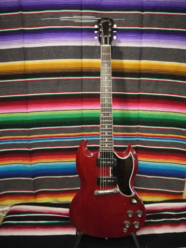 1961 Gibson SG Les Paul Special Cherry, Excellent, Original Hard