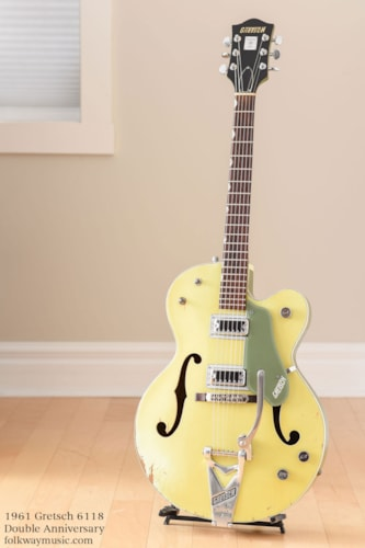 1961 Gretsch 6118 Double Anniversary, Canadian $2195
