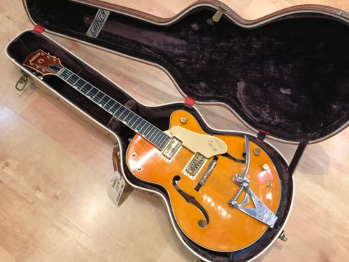 Vintage 1961 Gretsch 6120 Archtop Hollow Body Electric Guitar