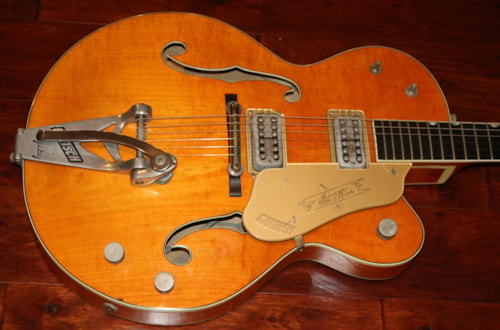 1961 Gretsch  6120  Western Orange, Very Good, Original Hard