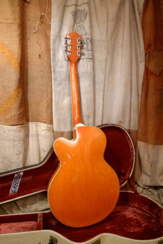 1961 Gretsch Chet Atkins 6120 Western Orange, Very Good, Original Hard, $9,250.00