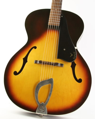 1961 Guild® A-50 Archtop Sunburst, Excellent, Original Soft, $1,199.00