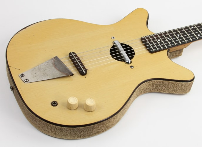 1962 Danelectro Convertible Blonde, Very Good, $699.00
