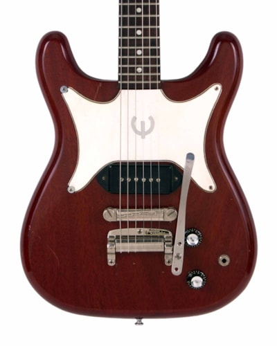 1962 Epiphone CORONET Red, Excellent, GigBag, $2,995.00