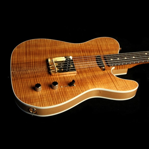 1962 Fender Custom Shop Masterbuilt Yuriy Shishkov 1962 Telecaster Custom Electric Guitar Koa Top Brazilian Rosewood Fretboard Brand New, $6,940.00