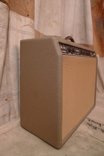 1962 Fender Deluxe Brown, Very Good, $2,850.00