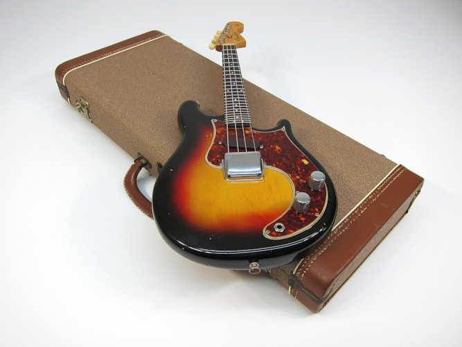 1962 Fender® Electric Mandolin  Sunburst, Excellent, Original Hard