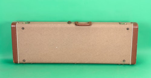 1962 Fender Case for Telecaster, Stratocaster or Esquire  Brown