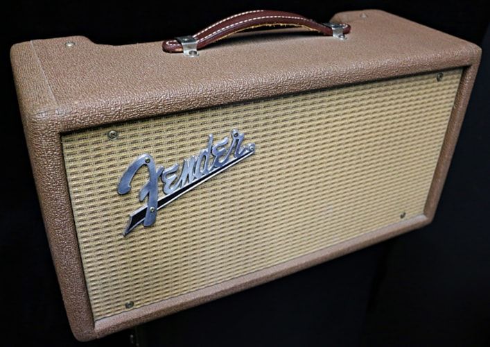 1962 Fender® Reverb Unit Brown Face, Mint, Call For Price!