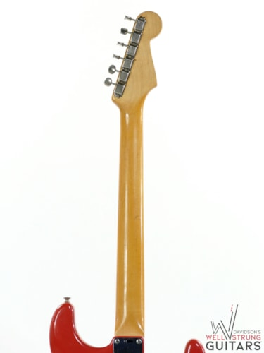 1962 Fender Stratocaster Fiesta Red Left Handed