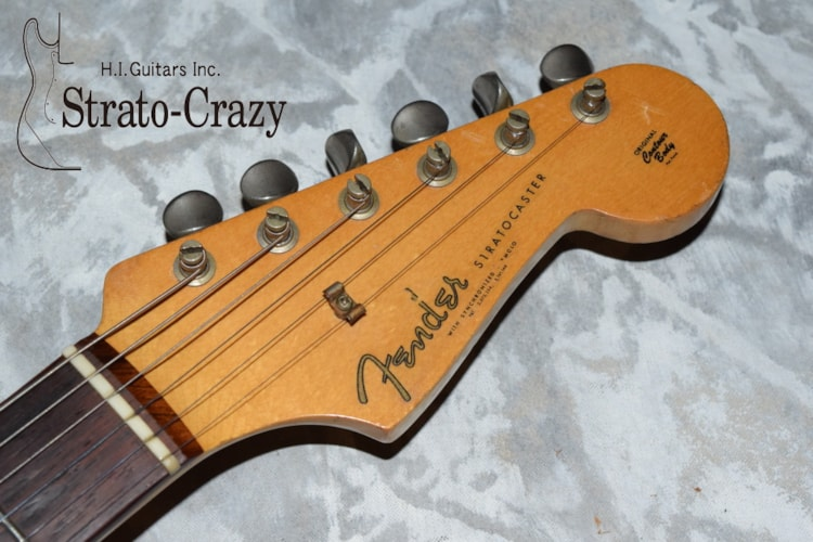 1962 Fender® Stratocaster® Sunburst, Very Good, Original Hard, Call For Price!