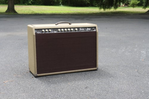 1962 Fender® Twin Amp™ White, Very Good, Call For Price!