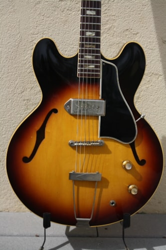1962 Gibson ES-330T Sunburst, Excellent, Hard