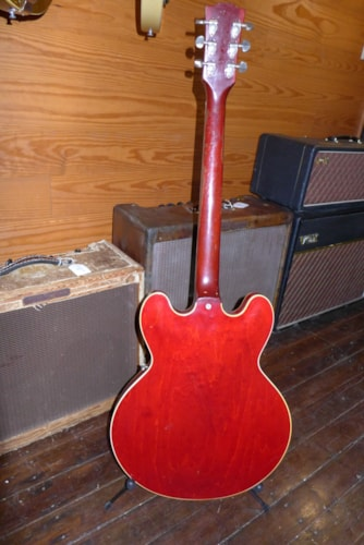 1962 Gibson ES-335 Red, Very Good, Hard, $14,000.00