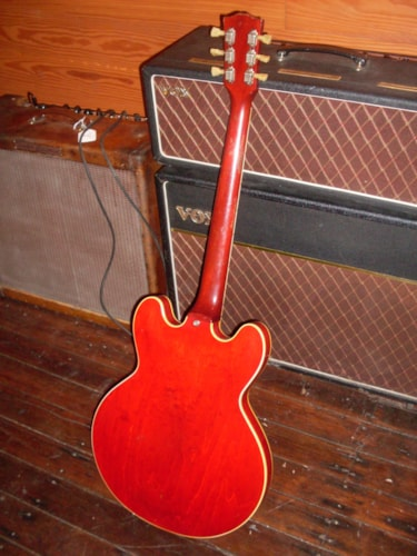 1962 Gibson ES-335 Red, Very Good, Hard, $15,000.00