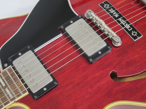 1962 Gibson ES 345 TDC Stereo Varitone Cherry Red, Near Mint, Original Hard, $12,500.00
