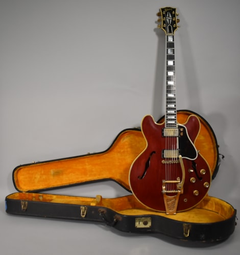 1962 Gibson ES-355 Cherry Finish Original Vintage Electric Guitar w/OHSC