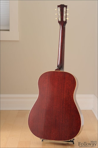 1962 Gibson J-45 Excellent, Hard, $3,829.00