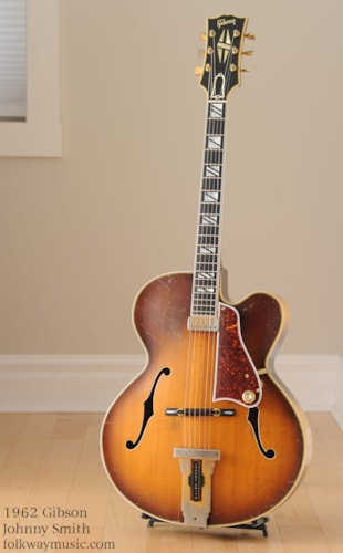 1962 Gibson Johnny Smith Excellent, Hard, $7,995.00