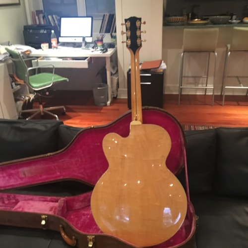 1962 Gibson L5-CT blonde