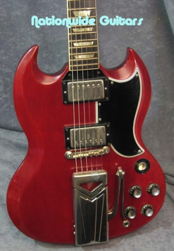 1962 Gibson Les Paul SG Standard Cherry, Excellent, Original Hard