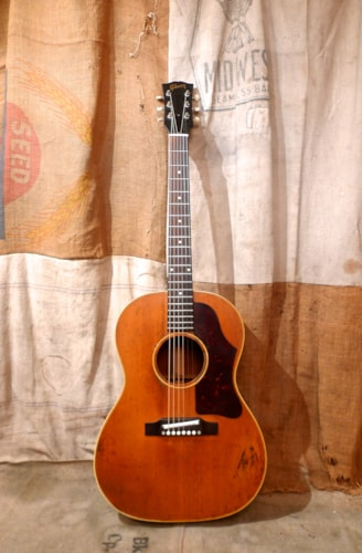 1962 Gibson LG-3 Natural, Good, Hard, $1,850.00