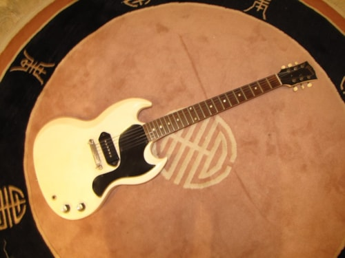 1962 Gibson SG TV (Junior) Polaris White