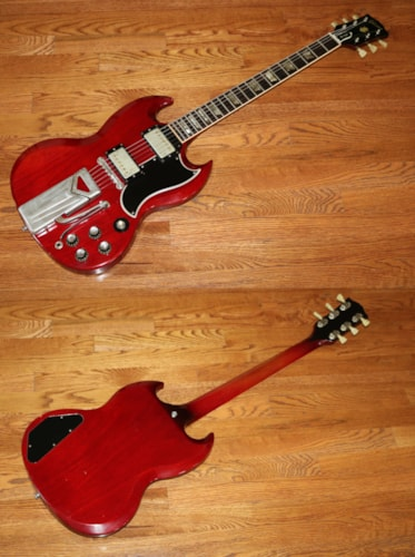 1962 Gibson SG Les Paul  Cherry Red, Excellent, Original Hard