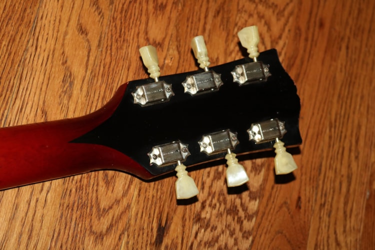 1962 Gibson SG Les Paul  Cherry Red, Excellent, Original Hard, $8,995.00