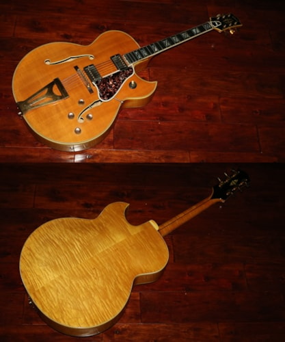 1962 Gibson Super 400 CESN  Natural, Excellent, Original Hard