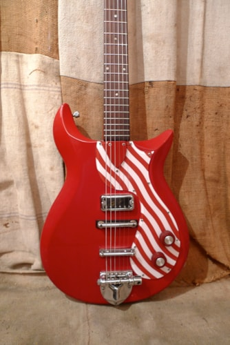 1962 Gretsch® 6109 Twist Red, Very Good, Hard, $1,650.00