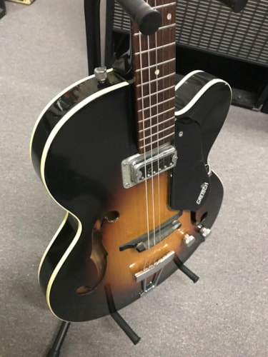 1962 Gretsch Clipper Sunburst, Good, Hard