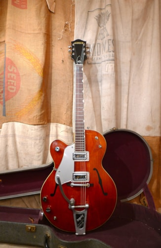 1962 Gretsch Gretsch  Tennessean 6119 1962 Walnut Rare Left-Handed Guitar Walnut, Very Good, Original Hard, $4,800.00