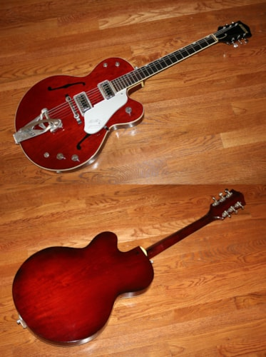 1962 Gretsch® Tennessean   Deep Burgundy, Excellent, Original Hard, $4,995.00