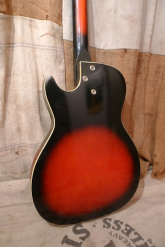 1962 Holiday by Harmony Stratotone Reburst, Very Good, Soft, $650.00