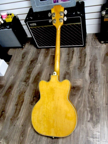 1962 Kay  K5970J Jazz Bass Special Natural, Excellent