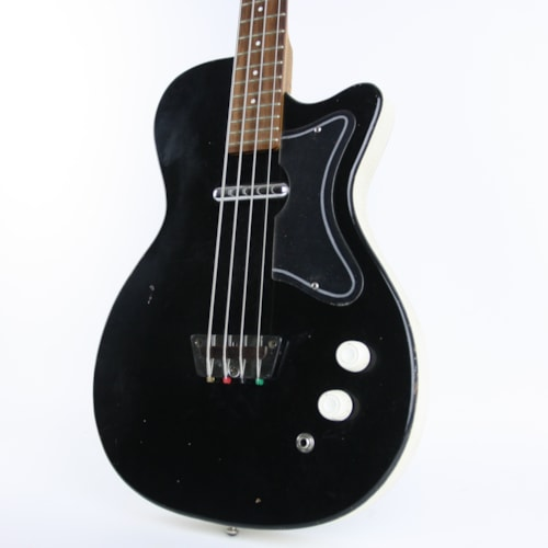 1962 Silvertone 1444 Bass Black, Very Good, Hard, $799.00