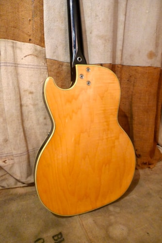 1962 Silvertone by Kay 1445 Speed Demon Blond, Excellent, Soft, $1,350.00