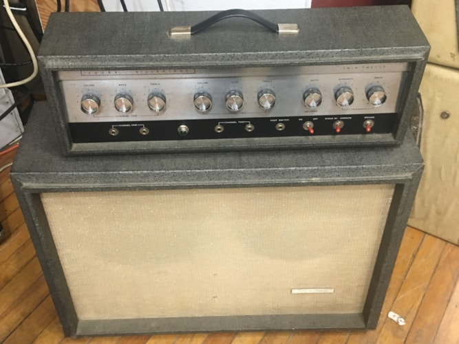 1962 Silvertone Twin 12  Gray, Excellent