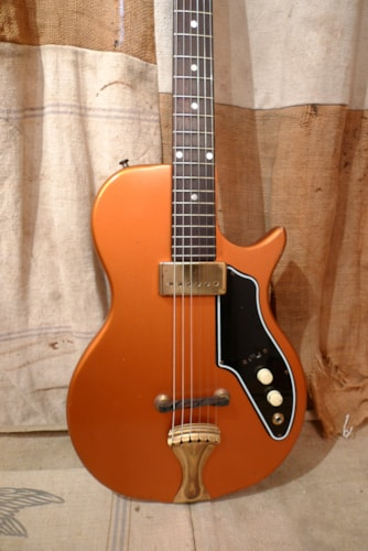 1962 Supro Tosca 3/4 Electric Guitar Copper, Excellent, GigBag